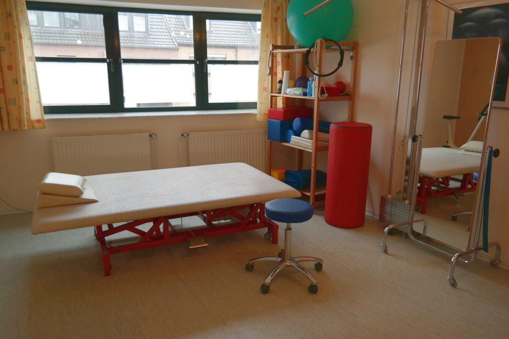Behandlungsraum Krankengymnastik