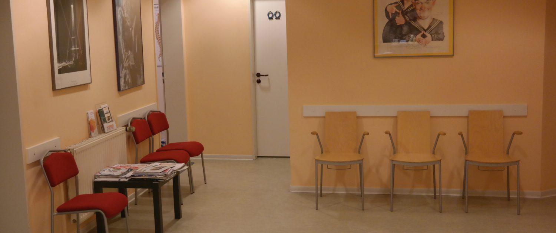Eingangsbereich Praxis